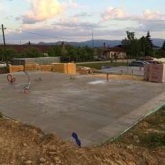 Ponúkame betónové základové platne